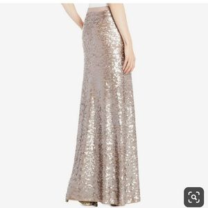 BCBG gorgeous sequin maxi